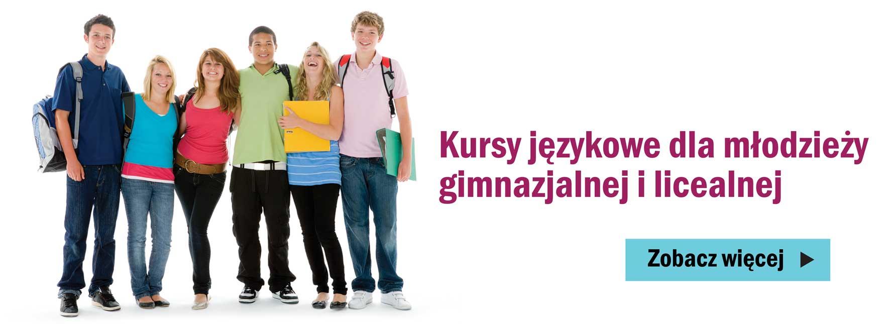 kursy językowe dla młodziezy gimnazjalnej i licealnej